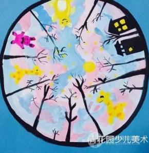 青花園少兒美術具體的教學模式是什么樣的?