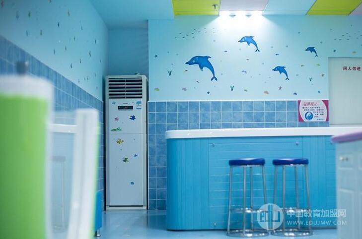 藍精靈嬰幼兒游泳樂園加盟