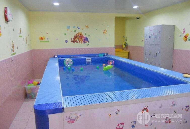 芒果映像嬰幼兒童游泳加盟