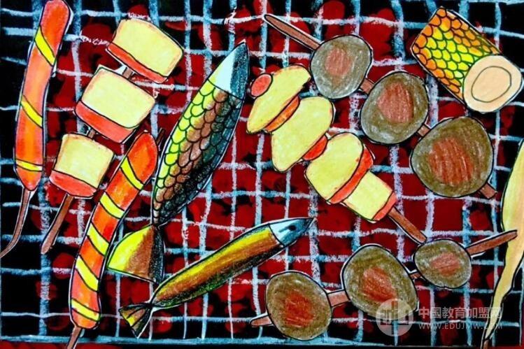 涂涂畫畫創意美術加盟